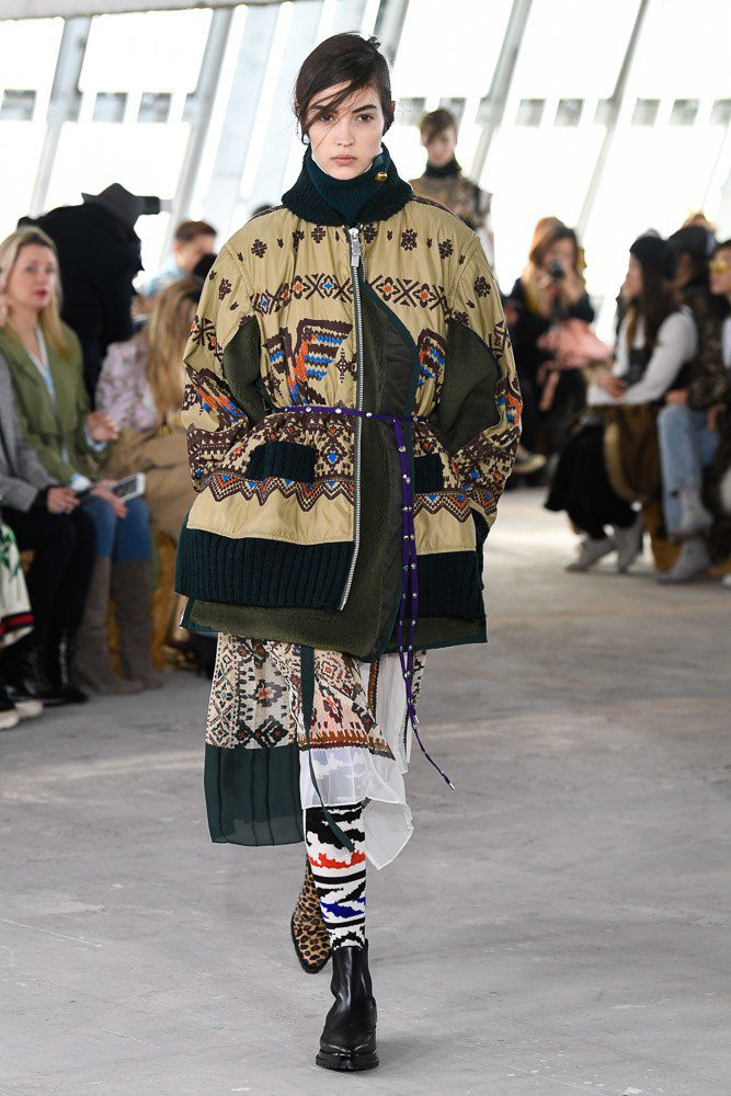 Mame moda: Sacai è entrata nel Dizionario della Moda: Paris Fashion Week, autunno/inverno 2018/19