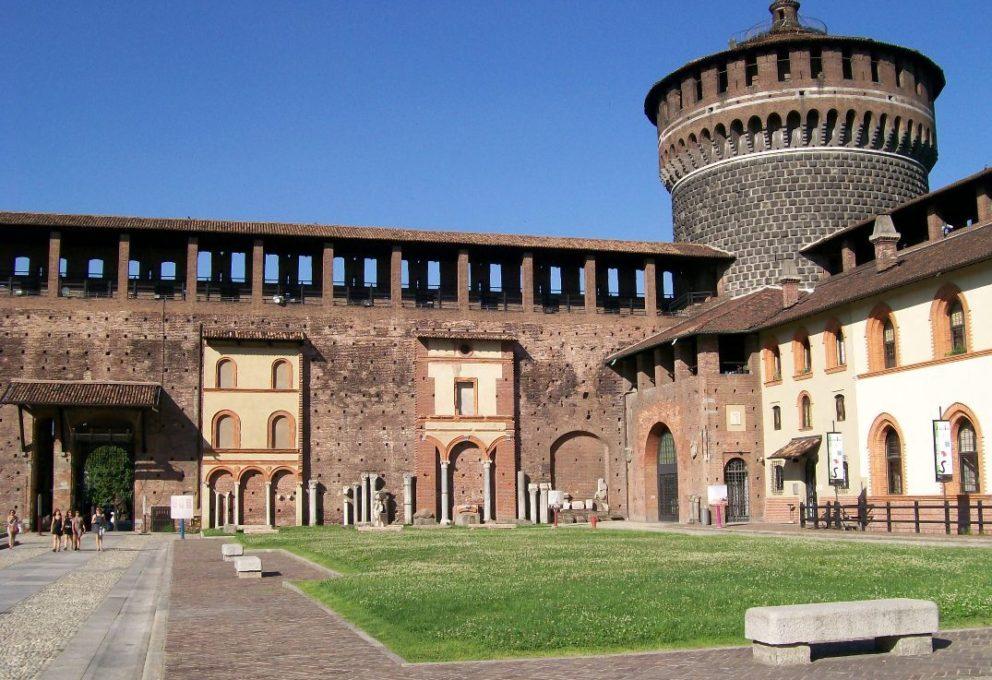 mam-e arte GAME OF SFORZA I 50 ANNI CHE SCONVOLSERO MILANO castello