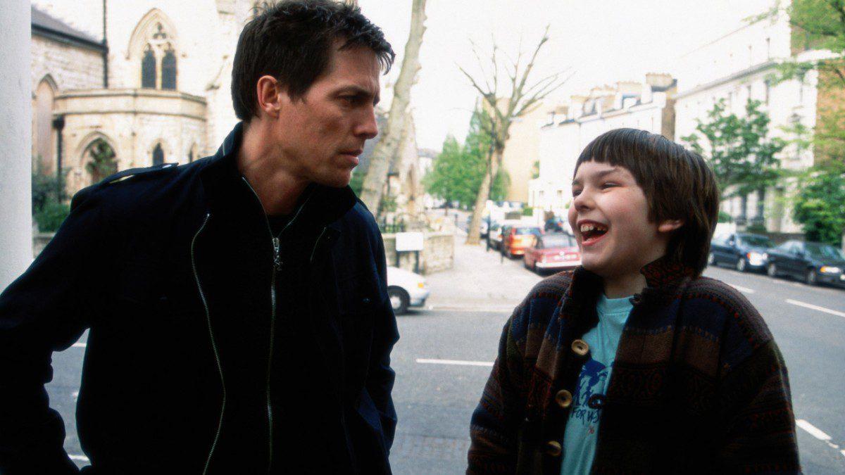 mame cinema ABOUT A BOY - STASERA IN TV IL FILM CON HUGH GRANTscena