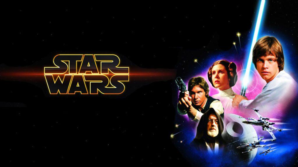 mame cinema STAR WARS - ESORDIO AL CINEMA IL 25 MAGGIO 1977 locandina