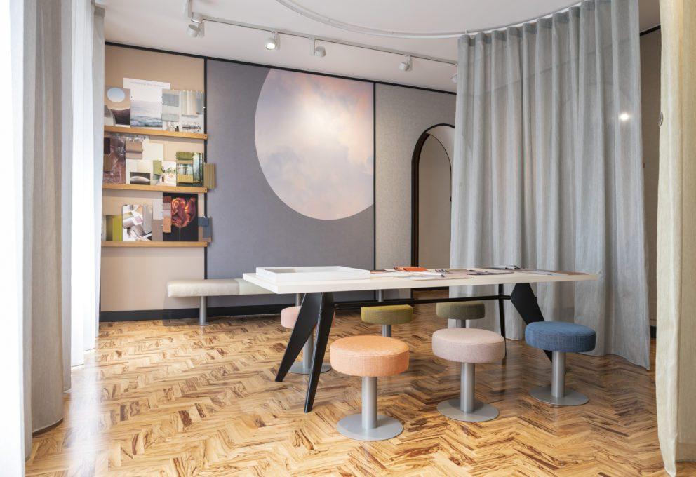Vescom il nuovo showroom a milano mam e for Nuovo design per l inghilterra