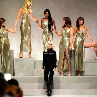 Mame Moda Happy birthday madame Donatella Versace. Sfilata omaggio a Gianni