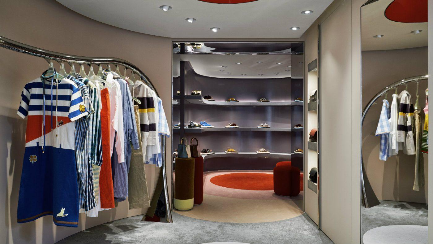 Mame Moda Marni apre la sua prima boutique a Firenze. Store Marni