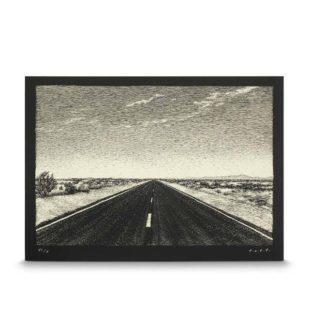 Mame Moda Rolling Down Route 66 Il carnet Louis Vuitton. Thomas Ott serigrafia