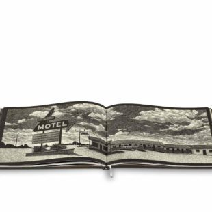 Mame Moda Rolling Down Route 66 Il carnet Louis Vuitton. Thomas Ott serigrafia motel
