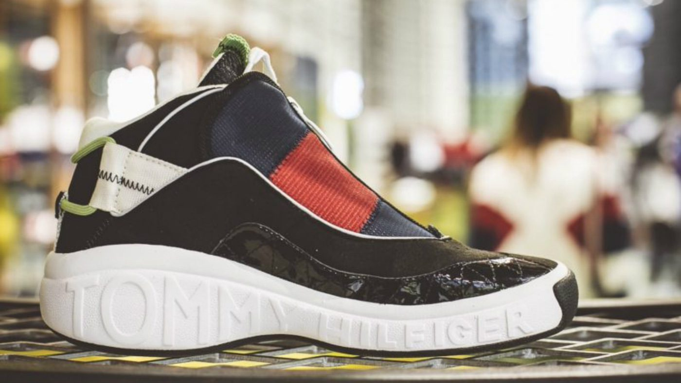 Mame Moda Tommy Hilfiger Fly sneakers, ritornano i '90