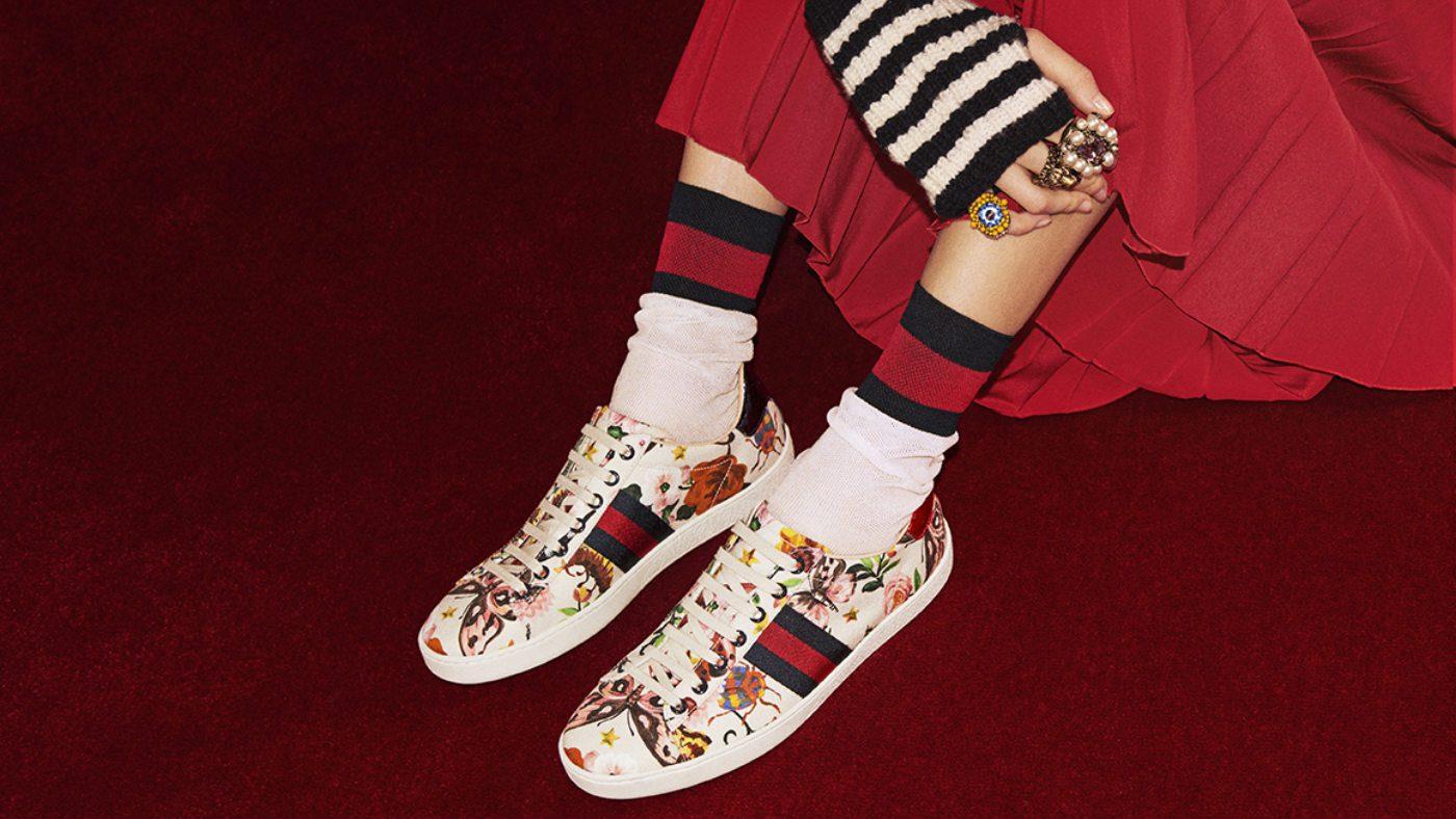 Mame Moda Tutte pazze per le sneakers, must have 2018. Gucci Garden