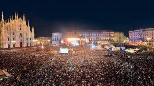 mam-e eventi IL CONCERTO DI RADIO ITALIA LIVE A MILANO piazza