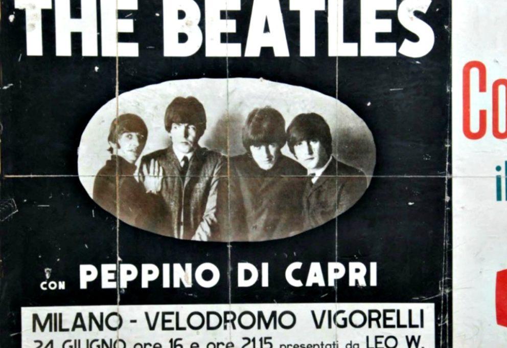 24 GIUGNO 1965 I BEATLES PER LA PRIMA VOLTA IN ITALIA