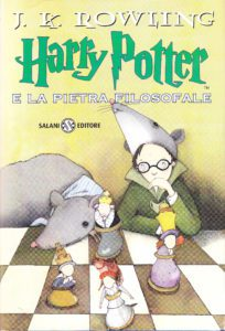 mame cinema HARRY POTTER E LA PIETRA FILOSOFALE - STASERA IN TV libro