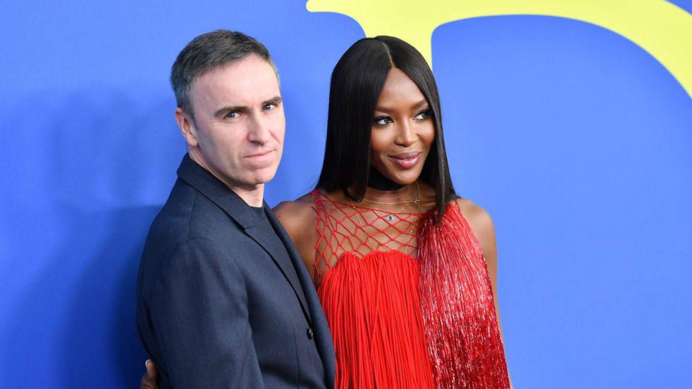 Mame Moda CFDA 2018 i vincitori degli Oscar della moda. Raf Simons