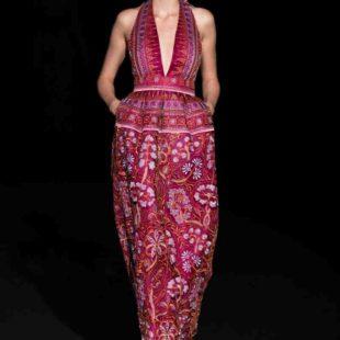 Mame Moda Sylvio Giardina, lezione di alta moda ad AltaRoma. Abito con ricami