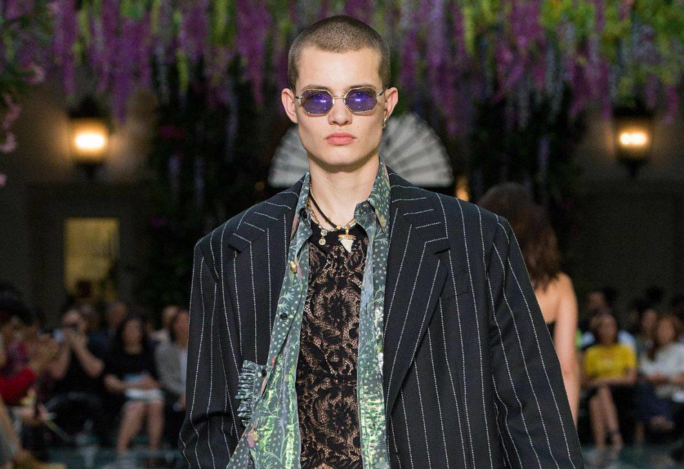 Mame Moda Versace uomo collezione spring summer 2019. Versace Uomo