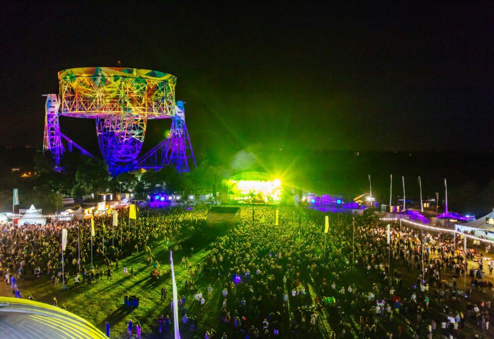 mam-e eventi BLUEDOT FESTIVAL L'EVENTO CHE COMBINA MUSICA E SCIENZA palco
