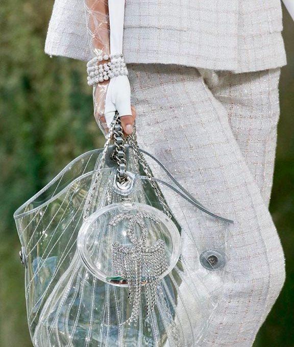Outfit bag trasparente