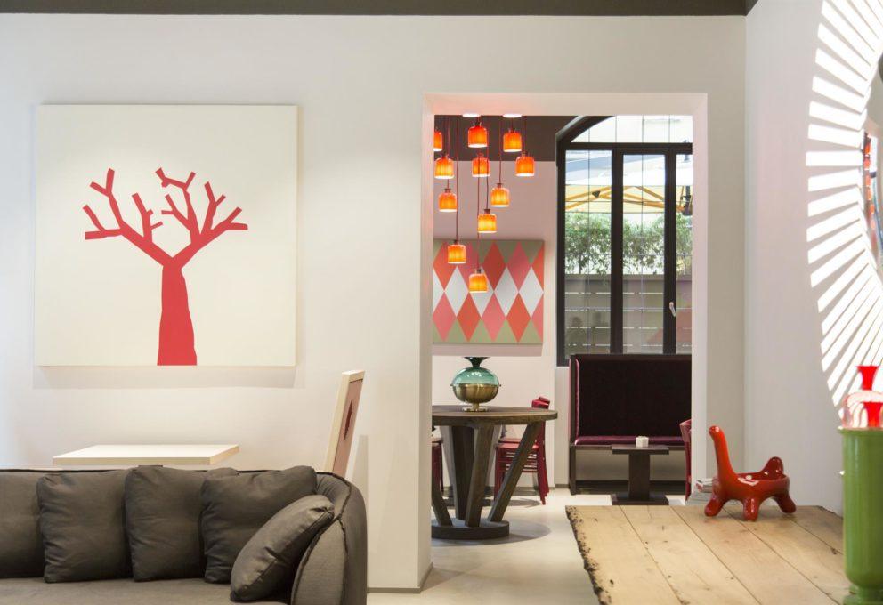 mame design SAVONA 18 SUITES - IL NUOVO DESIGN HOTEL A MILANO salotto
