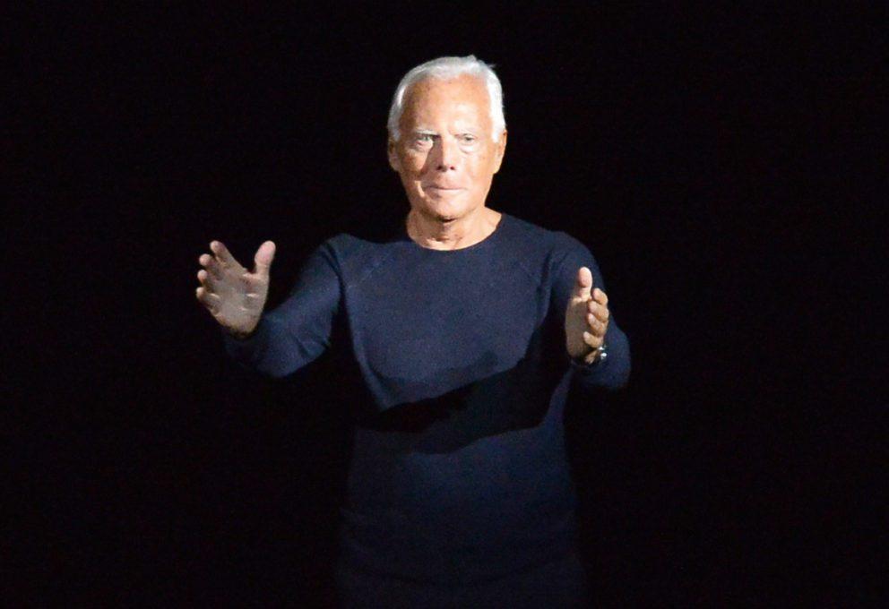 Mame Moda Auguri Giorgio Armani, re indiscusso della moda. Giorgio Armani