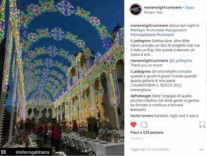 Mame Moda Dolce & Gabbana l'Alta Moda conquista Como. Luminarie Mariano Light