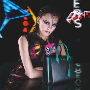 Mame Moda Prada presenta il cortometraggio Neon Dreams. Amanda Murphy