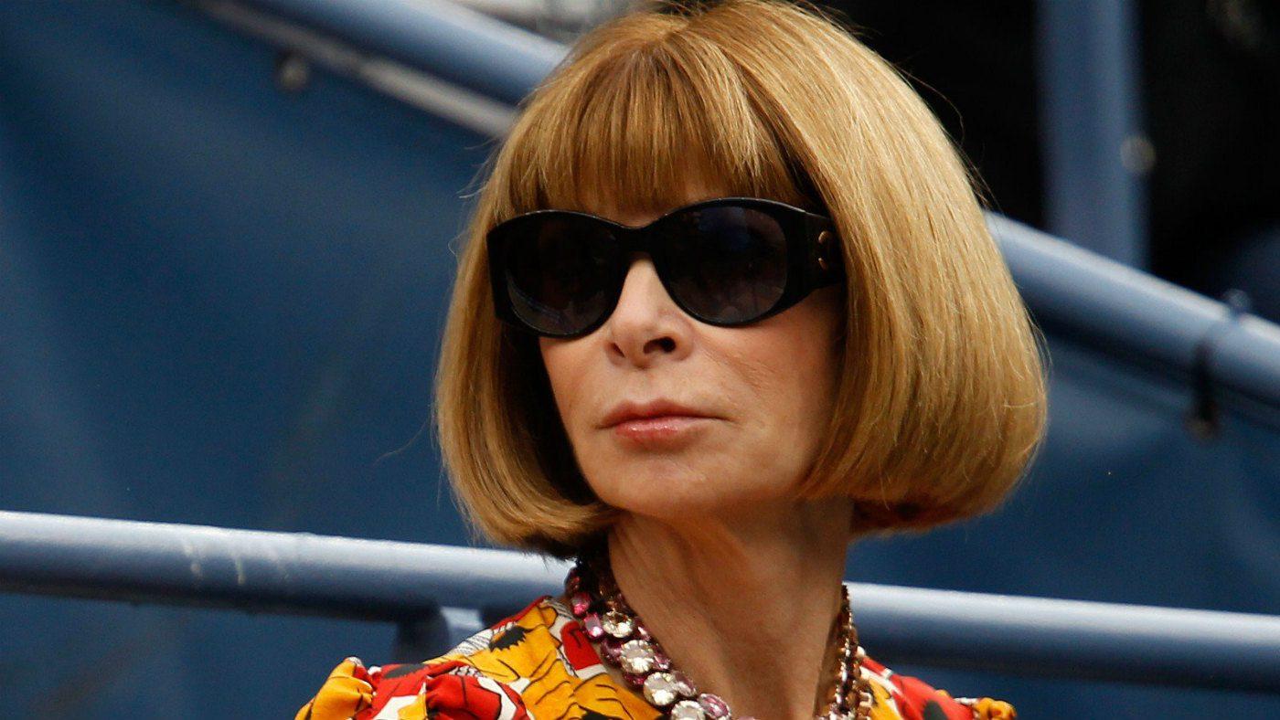 Mame Moda Anna Wintour resta in Vogue America. Anna Wintour