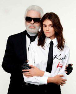 Mame Moda KarlXKaia, la co-lab tra Lagerfeld e Kaia Gerber. KarlXKaia