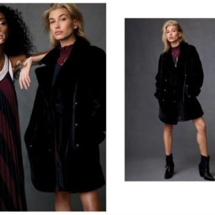 Mame Moda Tommy Icons, la capsule collection Tommy Hilfiger. Over coat velluto
