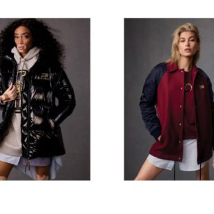 Mame Moda Tommy Icons, la capsule collection Tommy Hilfiger. Giacca collegiale