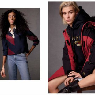Mame Moda Tommy Icons, la capsule collection Tommy Hilfiger. Parka