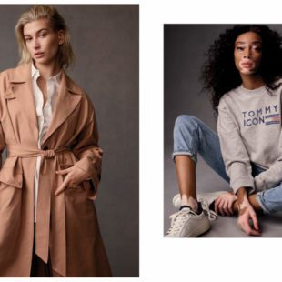 Mame Moda Tommy Icons, la capsule collection Tommy Hilfiger. Trench