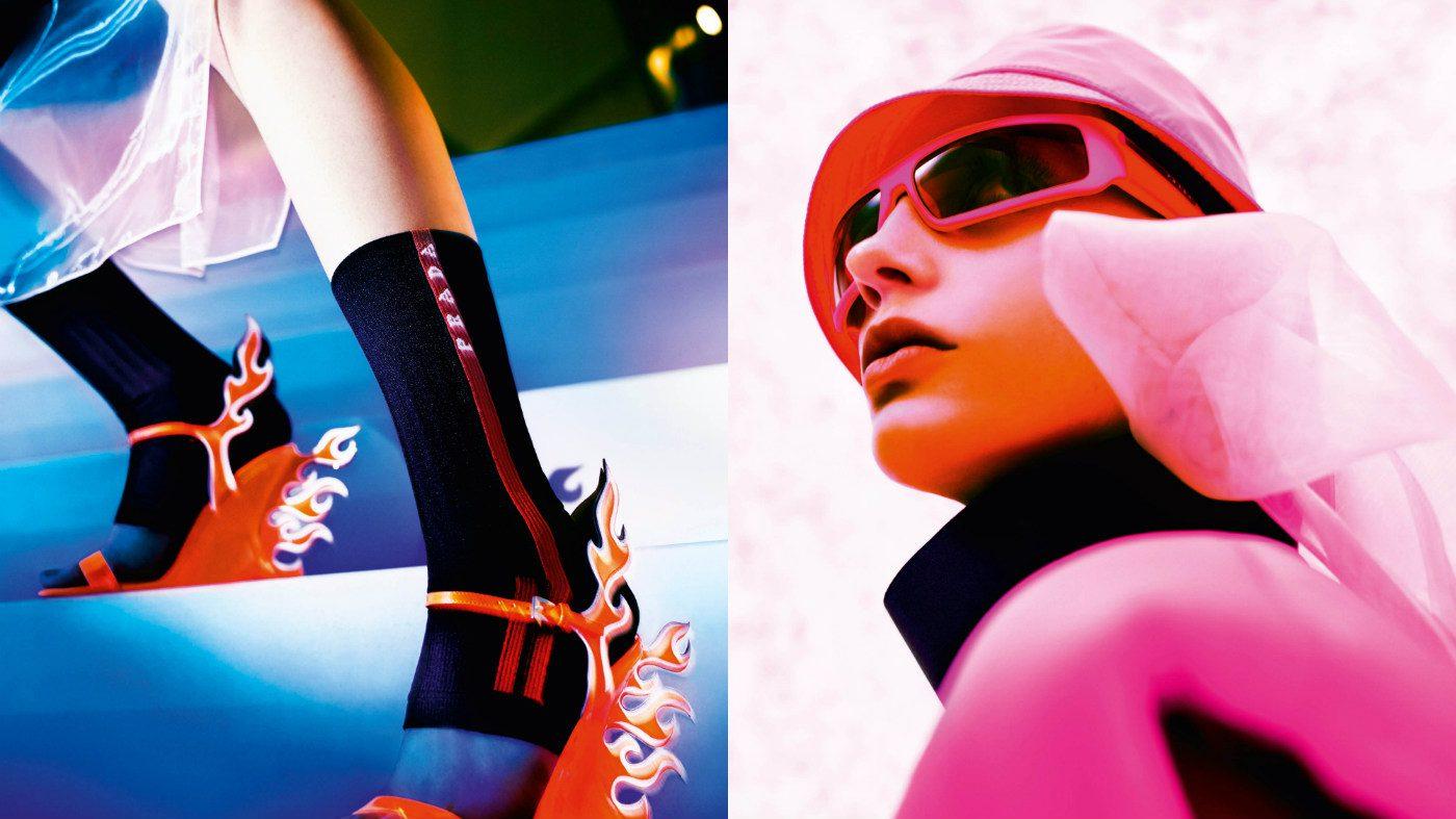Mame Moda Ultravision la campagna pubblicitaria ai 2018-19 firmata Prada