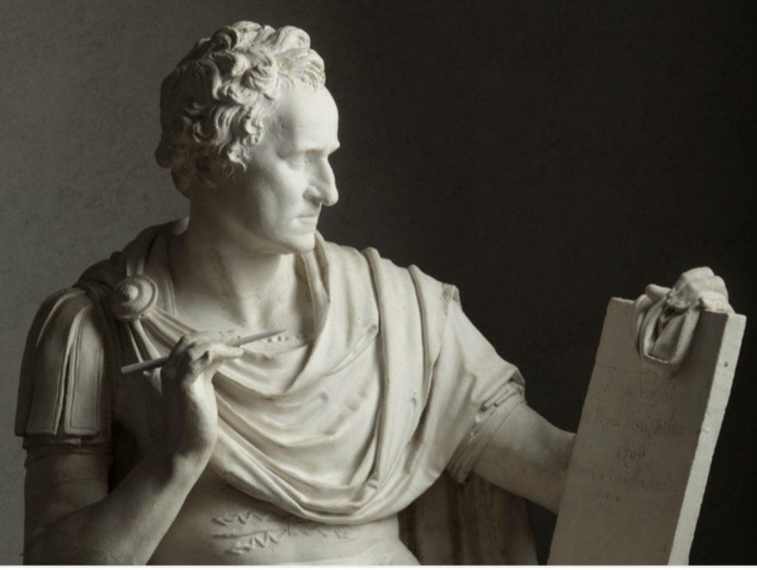 MAM-e arte Canova e George Washington. Modello preparatore