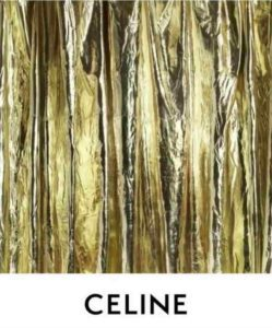 Mame Moda Celine, restyling al logo e nuovo account ig. Logo Celine