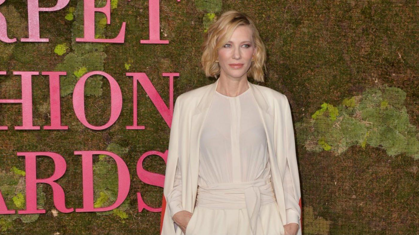 Mame Moda Green Carpet Fashion Awards i premi eco-friendly. Cate Blanchett