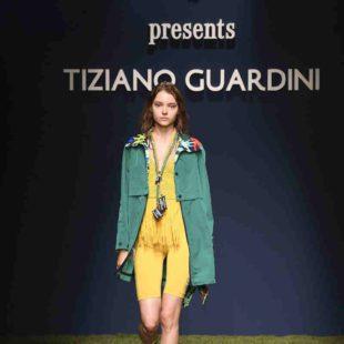 Mame Moda Tiziano Guardini l'eco si fa sporty alla MFW. Polo con frange