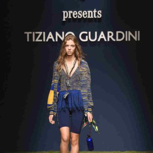 Mame Moda Tiziano Guardini l'eco si fa sporty alla MFW. Pullover frange