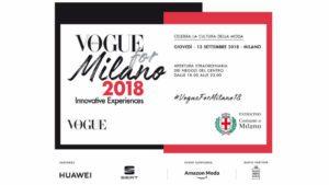 Mame Moda Vogue for Milano 2018, il programma. Manifesto