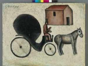 Mame arte CARLO CARRÀ TORNA A MILANO CON UNA GRANDE MOSTRA carrozzells