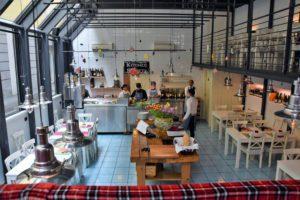 Mame food SUSHI ALL'ITALIANA AL KITCHEN SOCIETY NEL CUORE DI MILANO interno