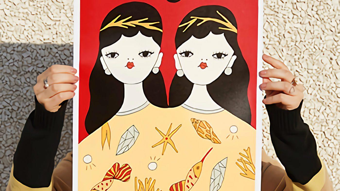 Mame Moda IBlues - Dreamissimo con La Fille Bertha. Illustrazione x Iblues