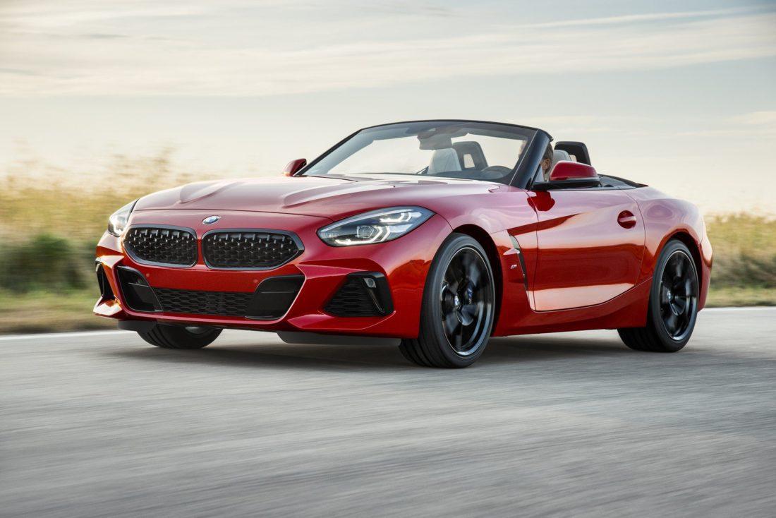 Nuova BMW Z4 2019 con allestimento M Sport