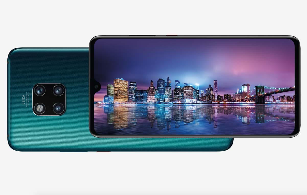 Huawei Mate 20 Pro con intelligenza artificiale