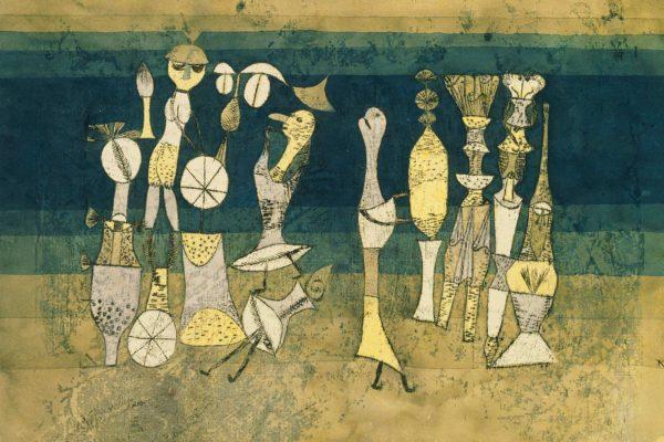 mame arte PAUL KLEE: ALLE ORIGINI DELL'ARTE AL MUDEC opera3