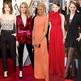 Emma Stone spegne oggi 30 candeline. Alcuni suoi look da red carpet.