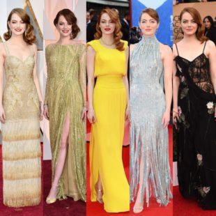 Emma Stone spegne oggi 30 candeline. Ecco alcune sue immagini sul red carpet.