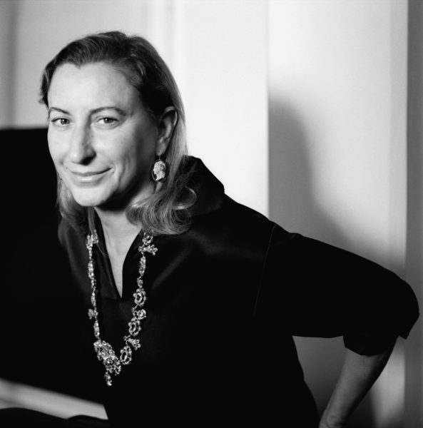 Outstanding achievement award-Miuccia Prada