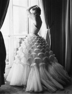 Dior: from the Paris to the world, la mostra a Denver. Abito Haute Couture 1950