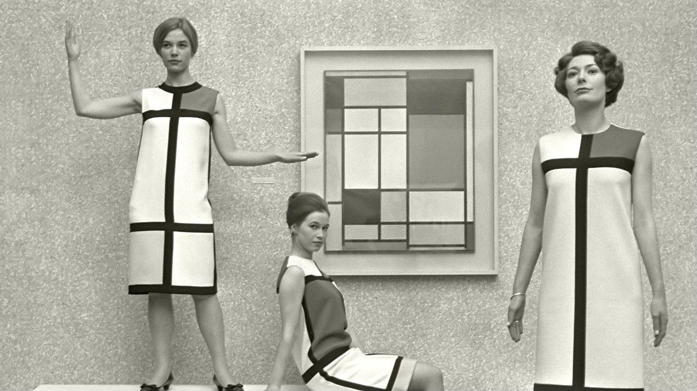 Mame Moda Yves Saint Laurent e Mondrian - il '60 dell'anti-moda. Abiti Mondrian