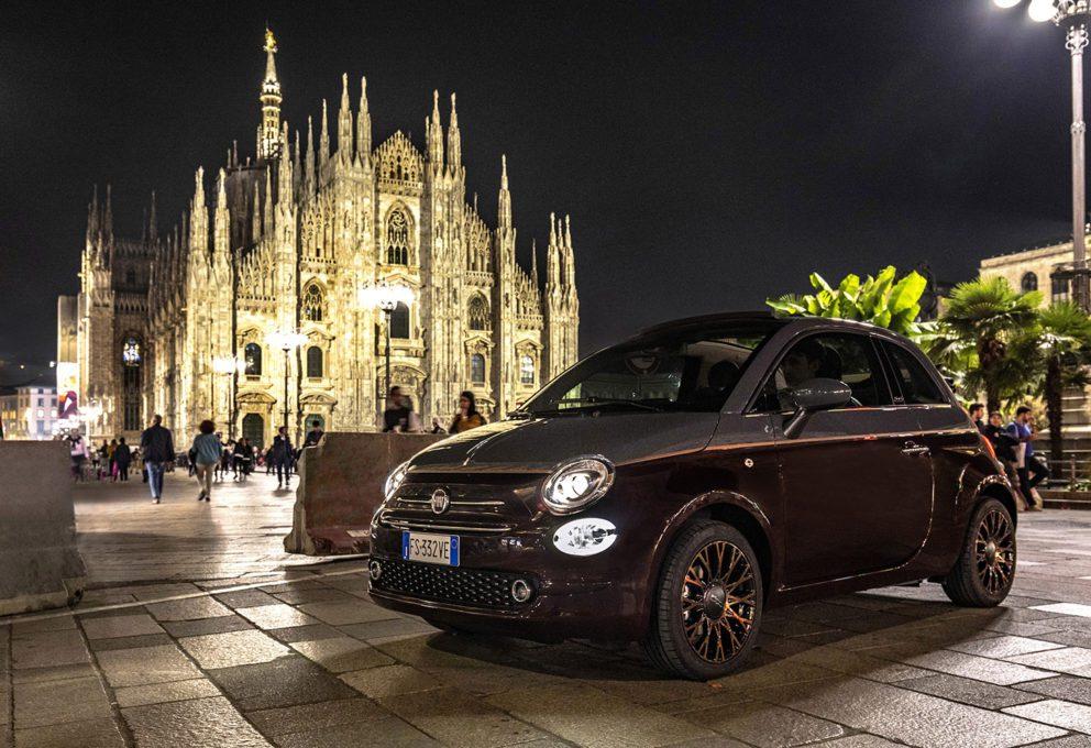 FIAT 500 COLLEZIONE: COLORE D'AUTUNNO