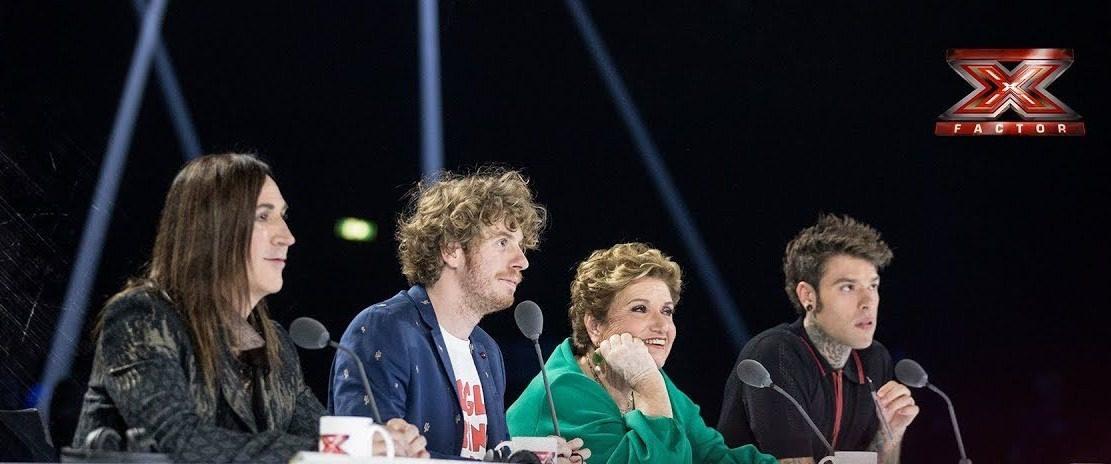 una foto dei giudici di X factor che stasera saranno chiamati a giudicare gli inediti