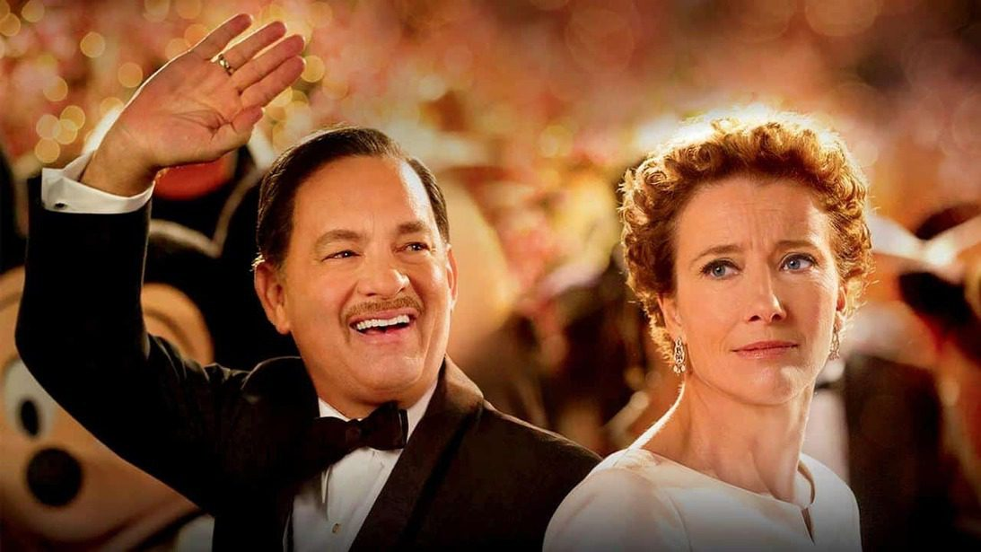 Saving Mr. Banks stasera in tv la storia di Walt Disney e del film su Mary Poppins.